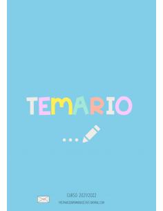 Portada Temario Azul...